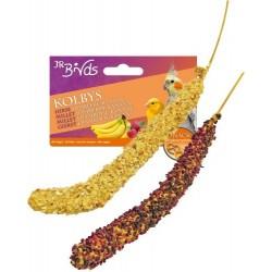 JR Birds Kolby proso malina/banan 50 g
