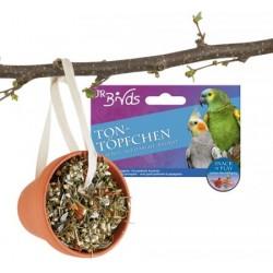 JR Birds Smaczna doniczka dla papug 260 g