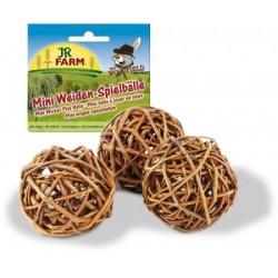 Mr. Woodfield Mini piłeczki wierzbowe do zabawy 3 sztuku