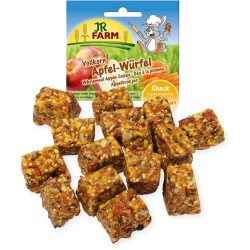 Kostki jabłkowe z mąki pełnoziarnistej 90 g JR FARM